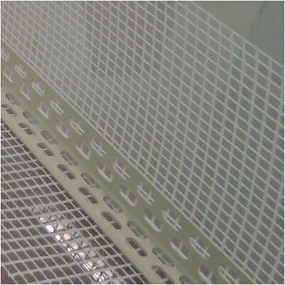 62,5lfm 100 x 150mm PVC Kantenschutzprofil mit Armierungsgewebe Fassade und Wand