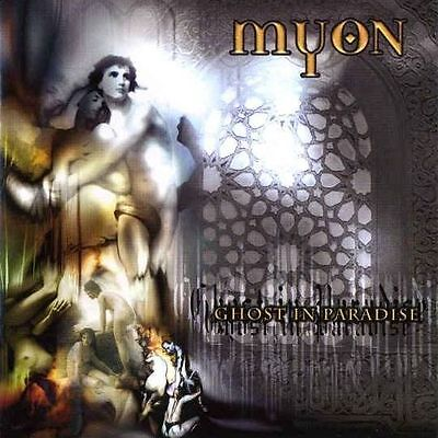Myon   Ghost In Paradise Cd 2005 Power Metal Finland Crash Music