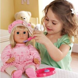 NEW:Interactive Toddler Doll(This doll speack English or French)