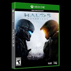 *** ONE ONLY *** HALO 5 Guardians For XBOX ONE (BRAND NEW & SEALED) *** ONLY £10***