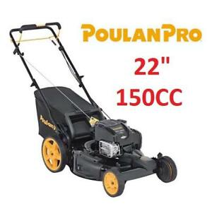 """NEW* POULAN PRO LAWN MOWER 961420127 191204280 GAS ENGINE FRONT WHEEL DRIVE 3IN1 22"""" 150"""""""""""
