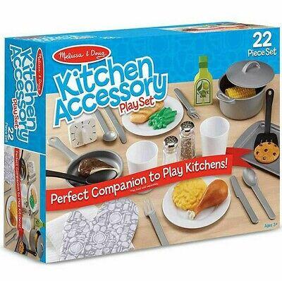 Melissa & Doug Kitchen Accessory Playset New