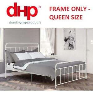 OB DHP WALLACE METAL BED FRAME 4118139 222309727 QUEEN SIZE OPEN BOX