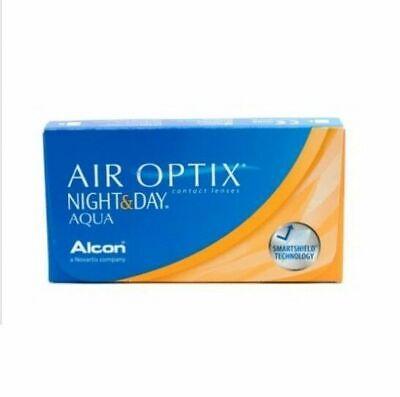 Air Optix Night & Day Aqua Monatslinsen weich, 6 Stück BC 8.6 -10,00 Dioptrien
