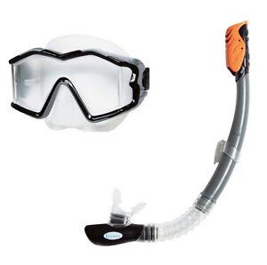 99894ac237b Intex Explorer Swim Swimming Pool Lake Mask Snorkel Diving Goggles Set 55961