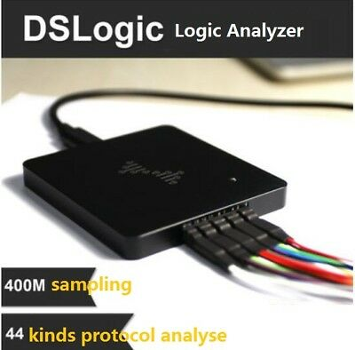 Usb Logic Analyzer 16ch 100mhz 4ch 400mhz Base On Xilinx Spartan-6 Fpgasdram