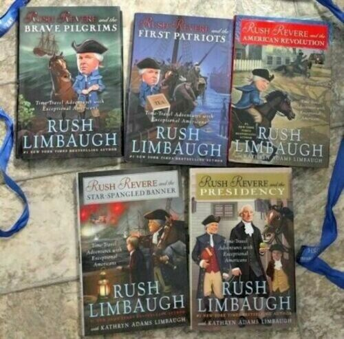 RUSH REVERE 5 VOLUME HARDCOVER BOOK SET (COLLECTION) by Rush Limbaugh