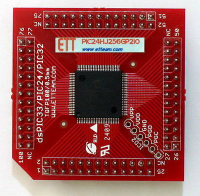 Mcu Board - Plug In Module Microchips Pic24hj256gp210