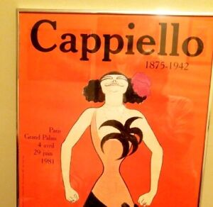 Vintage Cappiello Caricatures Affiches original French poster