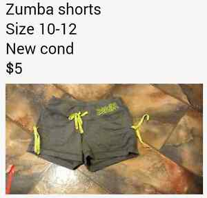 grey and yellow zumba shorts Junction Village Casey Area Preview