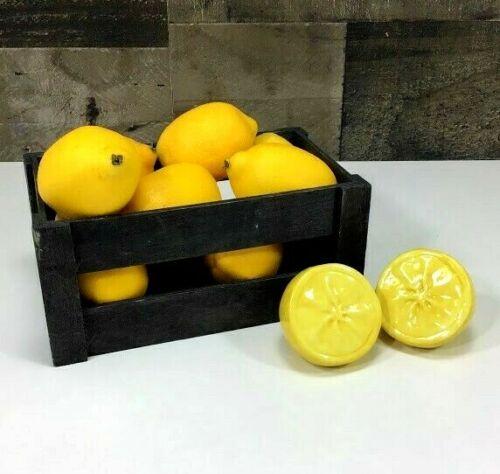 Lemon Halves 🍋 Salt & Pepper Shakers ~ Target ~ Summer Backyard BBQ ☀️~ NIB!