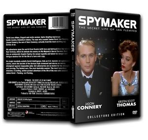SPYMAKER-The-Secret-Life-of-Ian-Fleming-Jason-Connery-DVD-1988-James-Bond