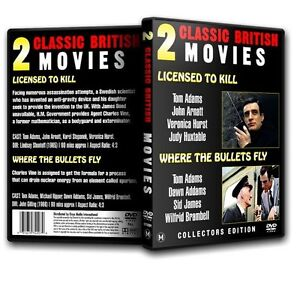 Licensed to Kill - Tom Adams, Veronica Hurst (007 James Bond spoof) (1965) DVD