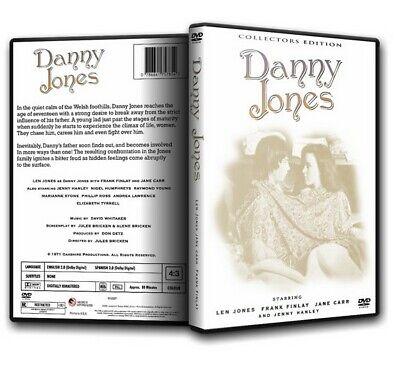 DANNY JONES  ~ Frank Finlay Len Jones Jane Carr (1972) Wales [DVD]