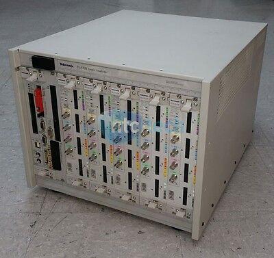 Tektronix Tla721 Benchtop Logic Analyzer Mainframe W 5x Tla7aa4
