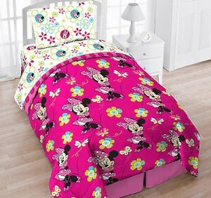 Minnie Mouse Twin Bedding Ebay