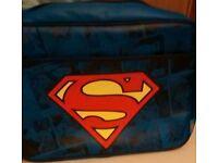 Leather superman bag