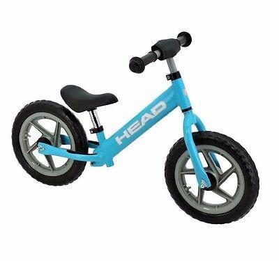 HEAD Kinderlaufrad blau, Lernlaufrad Kinder Laufrad Kinderrad Walking Bike
