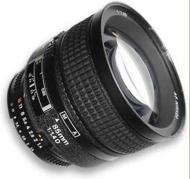 Nikon 85 1.4D