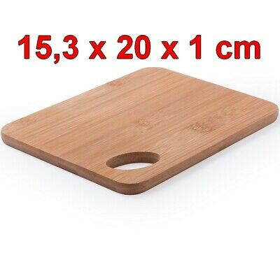 Tabla de Cocina de madera de Bambú 15,3 x 20 x 1...