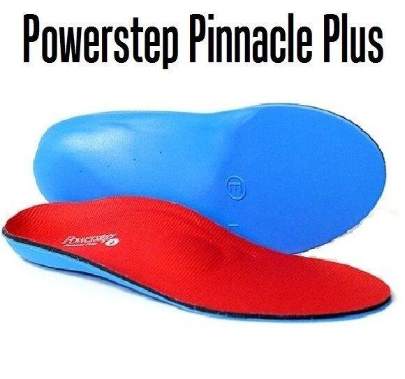POWERSTEP PINNACLE PLUS RED/BLUE UNISEX  Size H .