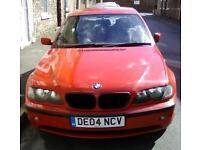 Automatic BMW 2004 diesel 1.9 TDI for sale.