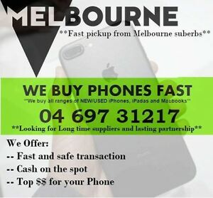 $$$PAYING TOP CASH FOR IPHONE AND SAMSUNG PAYING CASH ON SPOT, $$$ Coburg North Moreland Area Preview
