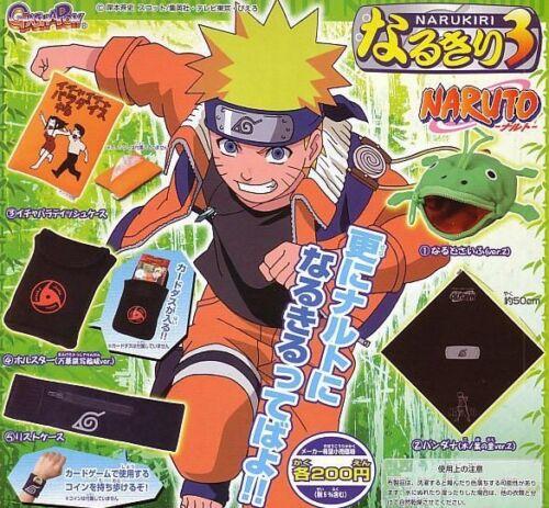 Bandai Naruto Gashapon Frog Coin Bag Itachi Clip Set of 5pcs figure Narukiri 3