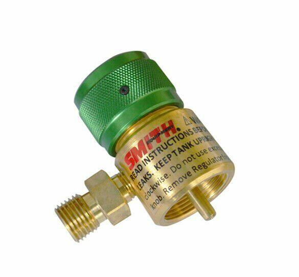 "Smith Preset Regulator Disposable Oxygen Tanks ""B"" Fittings Model 249-499"