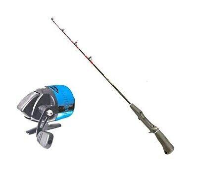 Kayak One Piece Trigger Fishing Rod (75cm) and Thumb Release Spincast Reel