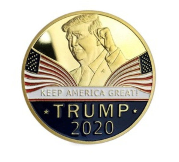 Donald Trump 2020 Keep America Great Commemorative Metal Challenge Coin