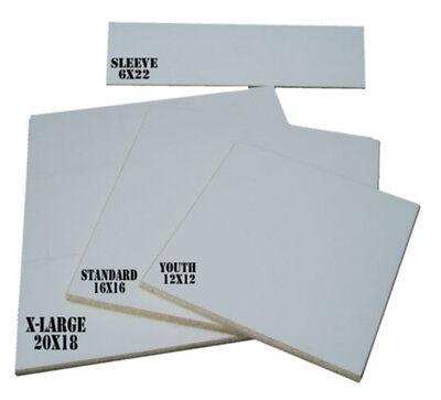 Square Cut Screen Printing Platen Pallet Starter Kit - 4 Platens