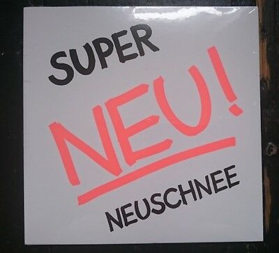 "NEU! - SUPER / NEUSCHNEE 7"" WHITE VINYL - CARHARTT LIMITED EDITION - SEALED!"