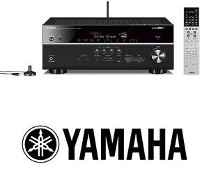 NEW YAMAHA 7.2 CHANNEL AV RECEIVER - 107830036 - MUSIC-CAST RECEIVER WITH BLUETOOH AUDIO STEREO HOME THEATER SYSTEM