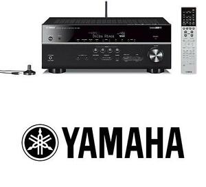 NEW YAMAHA RX-V681BL R7.1 CHANNEL - 107830036 - RECEIVER MUSIC-CAST BLUETOOTH AUDIO STEREO HOME THEATER SYSTEM