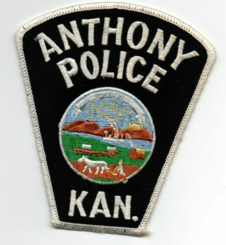 KANSAS KS ANTHONY POLICE NICE PATCH SHERIFF