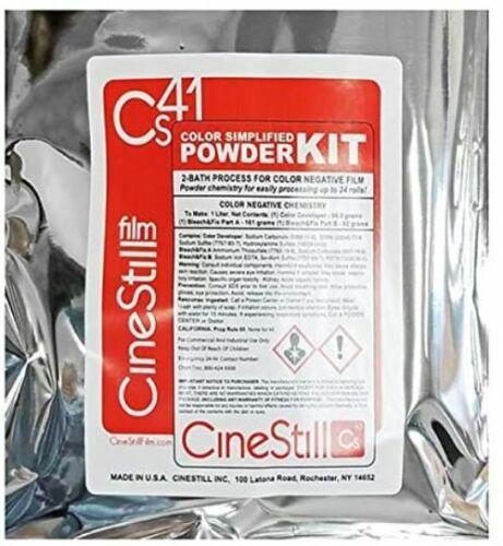 Cinestill CS41 1 Liter Home C-41 Powder Color Simplified Film Developer Kit