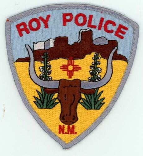 NEW MEXICO NM ROY POLICE NEW SHOULDER PATCH SHERIFF
