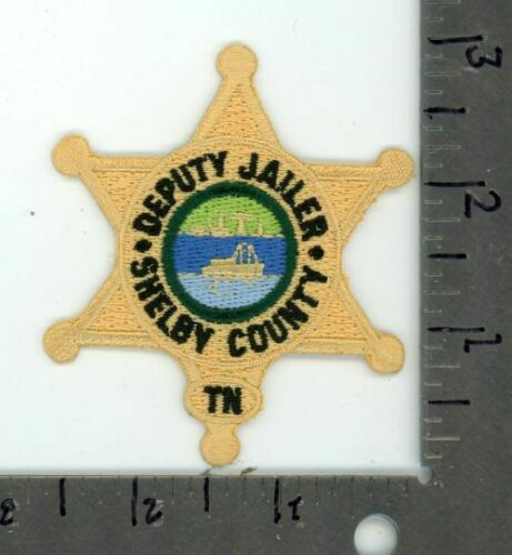 TENNESSEE TN SHELBY COUNTY SHERIFF DEPUTY JAILER NEW PATCH POLICE