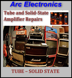 Professional Tube and Solid State Amplifier Repairs!