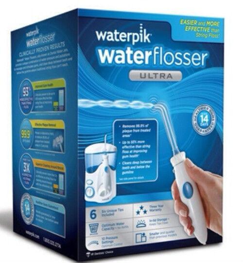 Waterpik Ultra Dental Water Jet Flosser Wp100w 6 Tips Cle...