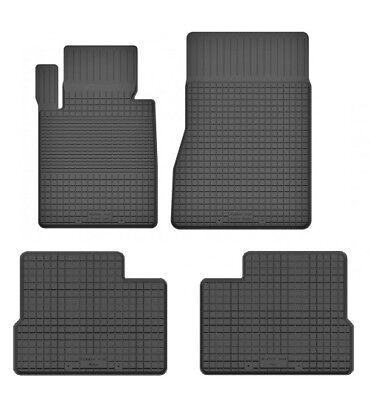 Gummimatten Fußmatten 1.5cm Rand passt für Mercedes GLK X204 (2008-2015) 4-teile