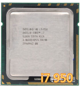Intel i7-950 3.06ghz - Good condition never OverClock
