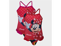 Disney Minnie Mouse Swim Costumes **NEW**