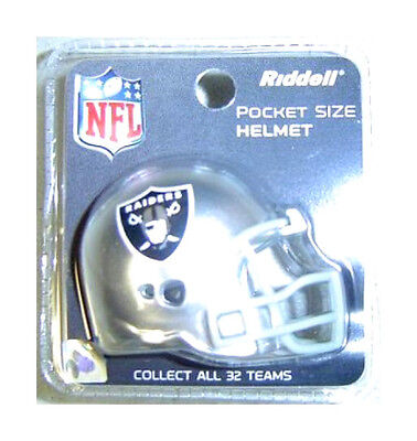 Oakland Raiders Revolution - OAKLAND RAIDERS NFL RIDDELL POCKETPRO REVOLUTION HELMET