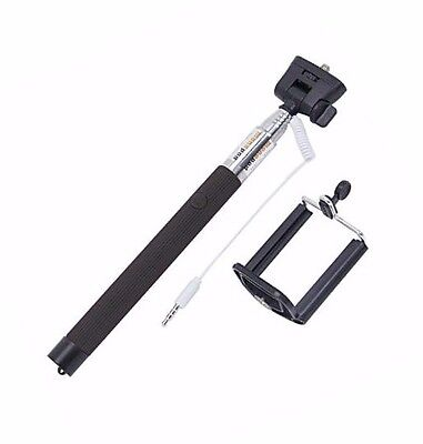 Extendable 30-Inch Selfie Fuse Handheld Mount Holder - iPhone Android Samsung