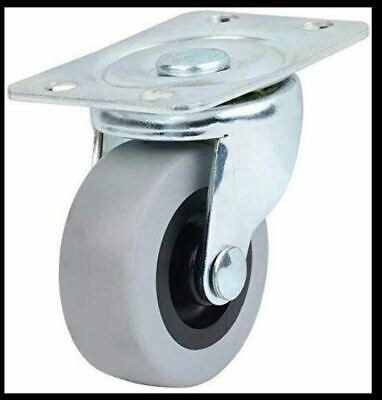 4-pack Caster Classics Non-marking Low Profile Swivel Casters