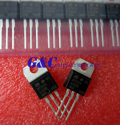 10PCS BTA24-600B BTA24 TRIAC 600V 25A TO-220AB NEW GOOD QUALITY T5