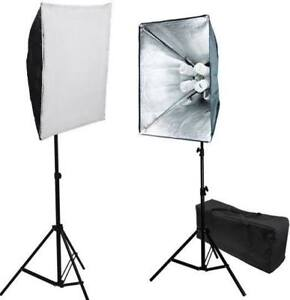 Digital Photography Softbox 1600W Continuous Lighting Kit