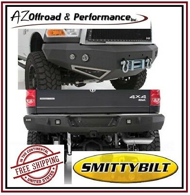 Smittybilt M1 Front 612800 & Rear 614800 Bumpers for 06-09 Dodge RAM 2500 3500